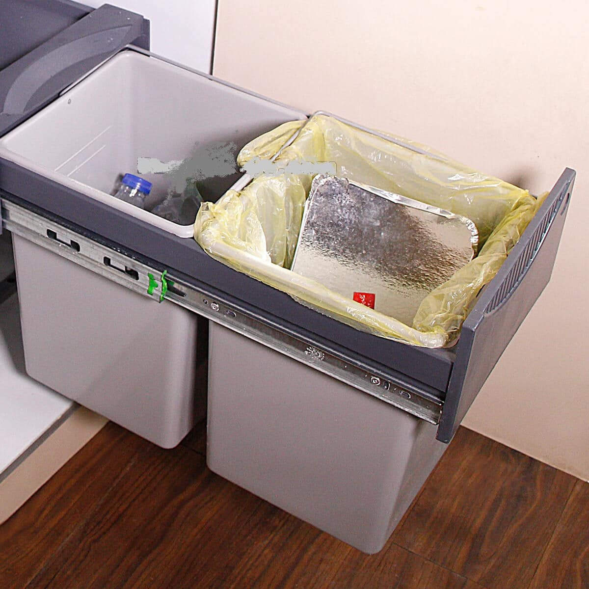 سطل زباله کابینتی هایکو یراق نما